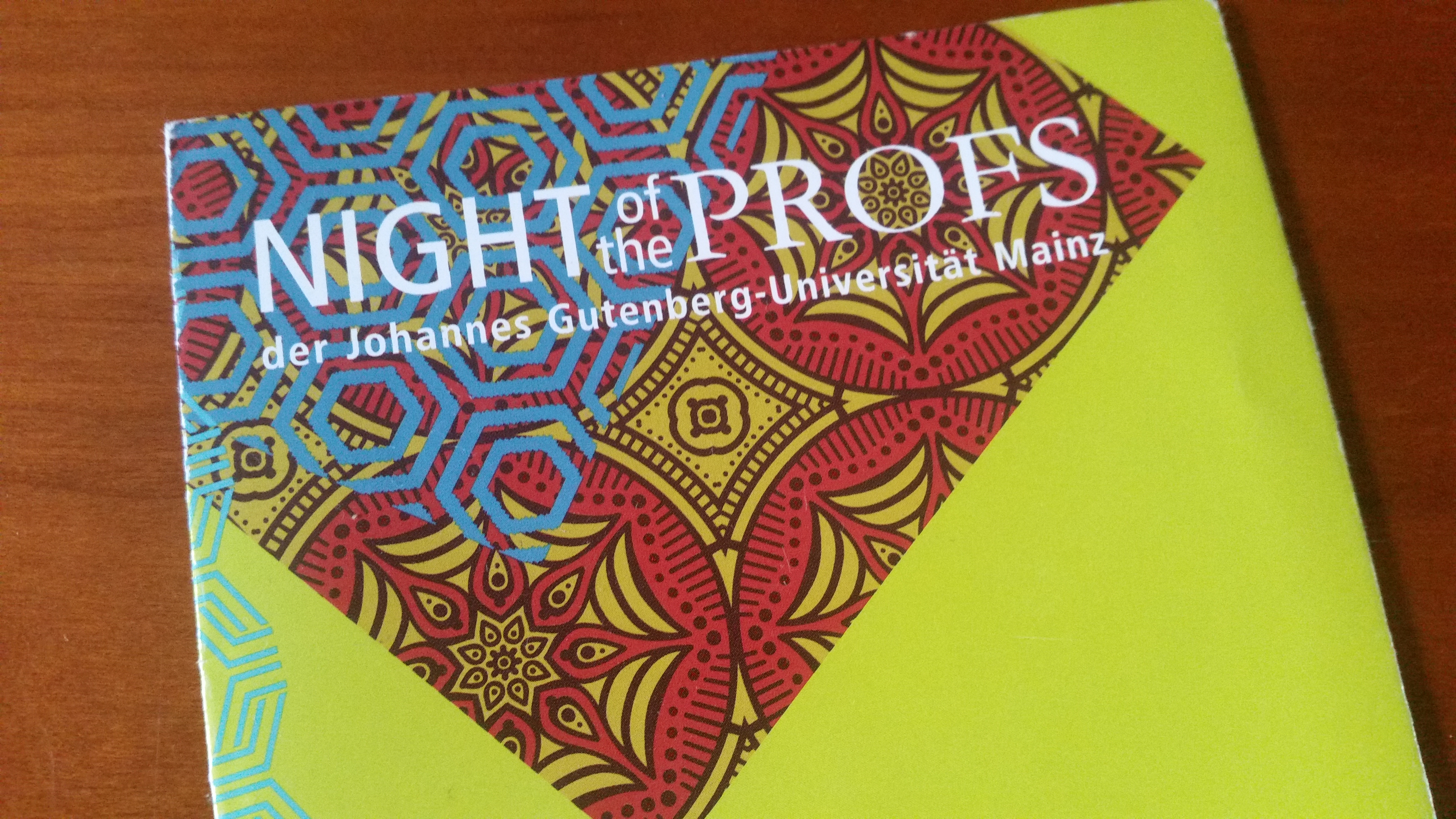 THE NIGHT OF THE ETHNO-PROFS – ETHNOLOGIE IN DER ÖFFENTLICHKEIT